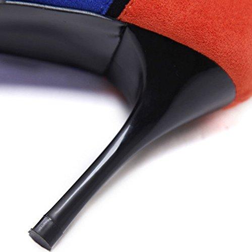 Professionale con Tacchi Colori personalit da Stiletto da Alti Donna Donna di Scarpe Abbinamento 6PgAq