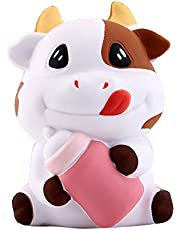 Anboor Squishies Koeien Kawaii Squishy Slow Rising Squeeze Toys Stress Reliever Sugar Scented Squishies Toys Prime Gift Collection