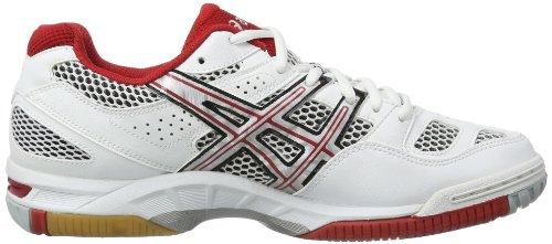 Asics Gel-tactic - Zapatillas de voleibol Hombre Weiß (Weiß / Rot)