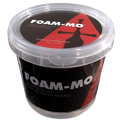Foam-Mo Air Dry Moldable Foam Clay for Cosplay 300 - The By Mo Cure