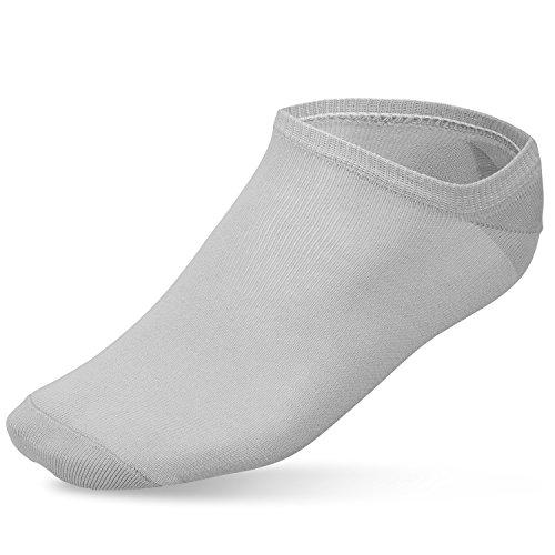 Homme Noir Femme Et Blanc 10 Prime Paires Gris De Socks Socquettes Epq1H1