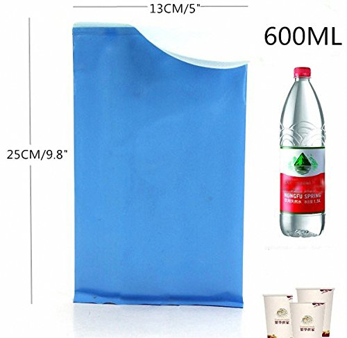 ToBe U Unisex Men Women Children Brief Relief Disposable Urinal Bags Super Absorbent Packs For Travel Car Traffic Jam Camping 4 Pieces