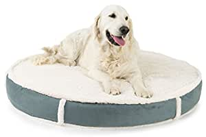 Amazon.com : K9 Ballistics Orthopedic LUX Round Bed Cream