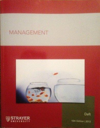 Management 10th ed (Strayer University)