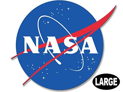 American Vinyl Large NASA Meatball Logo Shaped Sticker