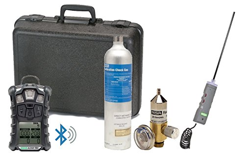 MSA 10110489-BT Altair 4XR Gas Detector (Bluetooth) Calibration Kit + Pump Probe by MSA (Image #7)