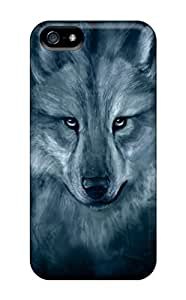 lintao diy OKgCIzX8357UPbSt Wolf Spirit Awesome High Quality Iphone 5/5s Case Skin