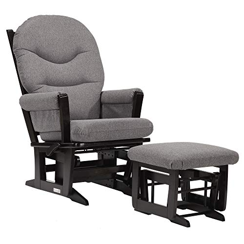 (Dutailier Modern 0386 Glider Multiposition-Lock Recline with Ottoman Included )