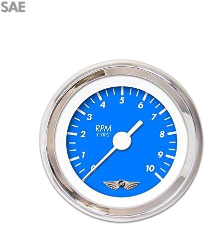 Aurora Instruments Marker Blue Tachometer Gauge GAR138ZEAIABAD