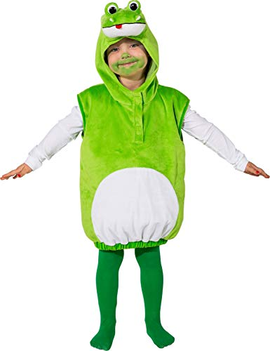 Toddler Girls Boys Green Frog Fairy Tale World Book Day Week Nursery Rhyme Animal Nature Fancy Dress Costume Outfit