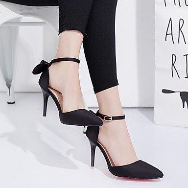 LvYuan Mujer-Tacón Stiletto-Otro-Sandalias-Boda Oficina y Trabajo Vestido Fiesta y Noche-PU-Negro Rosa Rojo Gris Pink