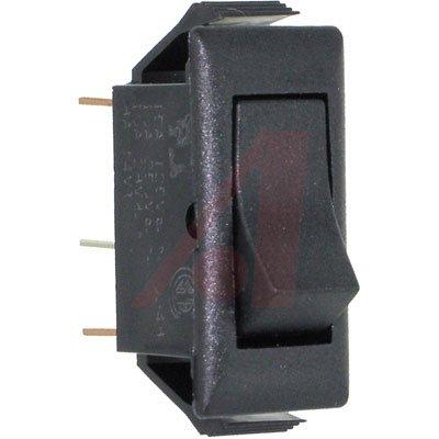 Eaton / Switches 150411E Switch, Snap-In Ac Rocker, Midsize, 15A@125V; 10A@250V; Spdt, On-Off-On