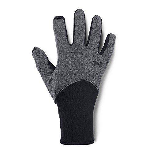 Under Armour Women's Liner Gloves, Black (001)/Black, Medium