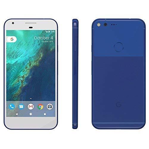 (Google Pixel (G-2PW4100) 4G LTE Smartphone - 32GB / Really Blue (Fully Unlocked) (Renewed))
