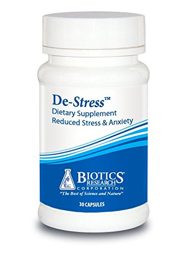 De-Stress:The All-Natural Way to Reduce Stress! 30 Capsules per Bottle.