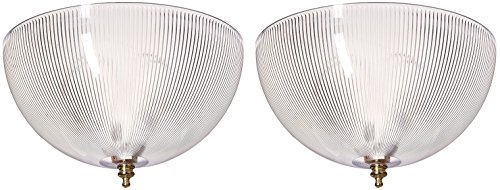 Ciata Acrylic Prismatic Dome Clip-On Shade Clip-On Shade, 8