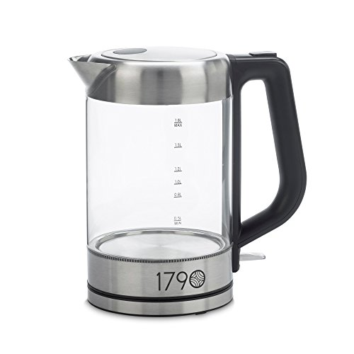 1790 Electric Kettle 1.8 Liter -  BPA Free, Cordless, Stainl