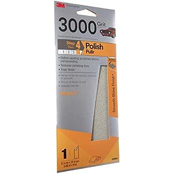 3M(TM) Trizact(TM) Performance Sandpaper, 03064, 3-2/3 in x 9 in, 3000 grit