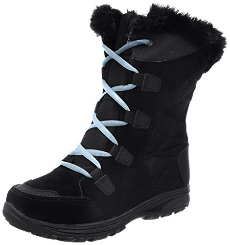 Columbia Women's Ice Maiden II Snow Boot (8.5 B(M) US, Black/Oxygen)