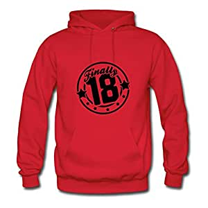 Custom-made Red Women Chic X-large O-neck Finnaly_18_t1 Cotton Hoodies