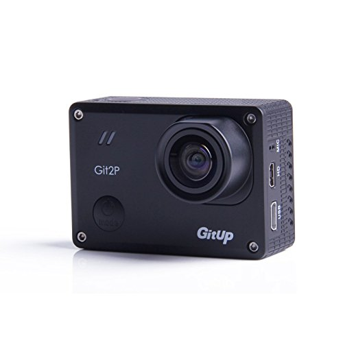 GitUp Git2P 90 Degree Lens Action Camera Pro Package