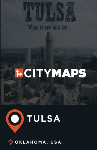 City Maps Tulsa Oklahoma, USA