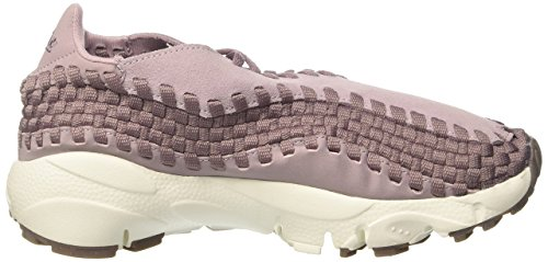 Nike Damen Wmns Air Footscape Woven Gymnastikschuhe, Violett (Plum Fog/Taupe Grey/Sail/Gum Med Brown), 36 EU