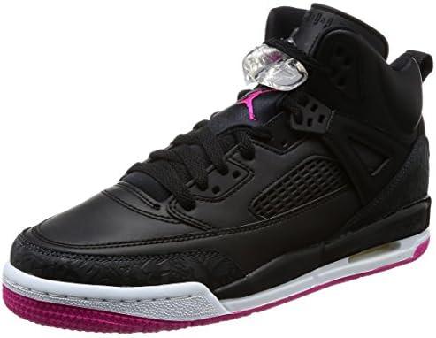 a47cd5856458 Jordan Nike Kids Spizike GG Black Deadly Pink Anthracite Basketball Shoe 7  Kids US