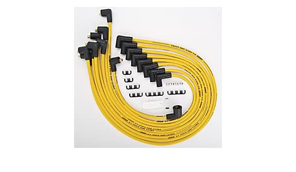 Jegs rendimiento productos 40222 8,5 mm amarillo Ultra Pow R Cables: Amazon.es: Coche y moto
