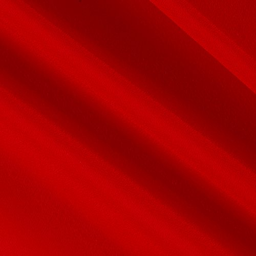 Ben Textiles Double Georgette Fabric by The Yard, Red]()