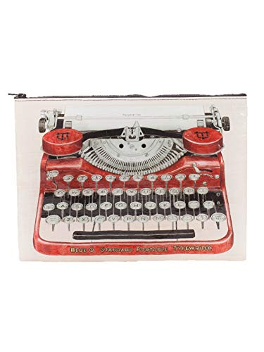 BLUE Q Pouch Typewriter Jumbo, 1 Each