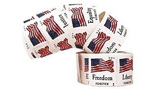 forever stamps four flags atm sheet of 18 x forever us postage stamps. Black Bedroom Furniture Sets. Home Design Ideas