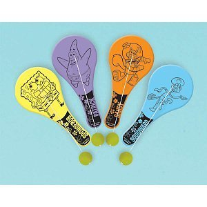 Spongebob Squarepants Paddle Balls Party Accessory by ...