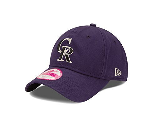 MLB Colorado Rockies Women's Essential 9Twenty Adjustable Cap