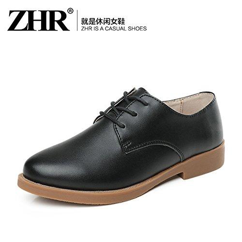 Little Shoes Blancs Ressorts,Chaussures Marée,Cuir Chaussures Occasionnelles,Chaussures Plates,Angleterre Vent Women Shoes B