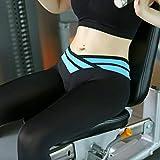 FidgetFidget Leggings Capri Gym Fitness Workout Women Running Wear Cropped Mesh