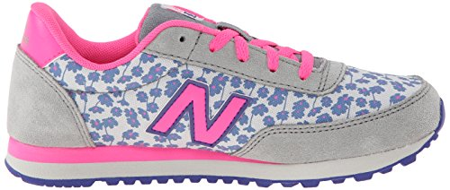 New Balance Lifestyle Mode De Vie Grey Pink Youths Trainers Grey Pink