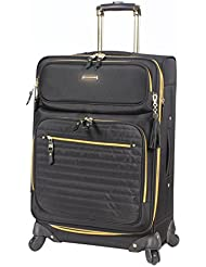 Steve Madden Luggage Large 28 Expandable Softside Suitcase With Spinner Wheels