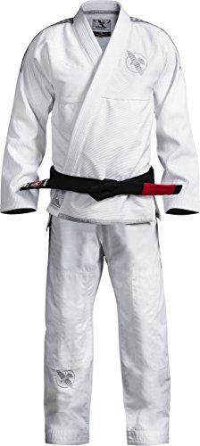 Hayabusa Lightweight Jiu Jitsu Gi (White, A3)