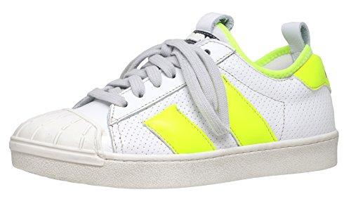 Weiß Fille Momino 11887 Pour Neongelb Baskets qHwwCv0z