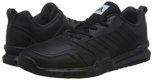 adidas Essential Star 3 M - Zapatillas de deporte para Hombre, Negro - (NEGBAS/NEGUTI/FTWBLA) 39 1/3