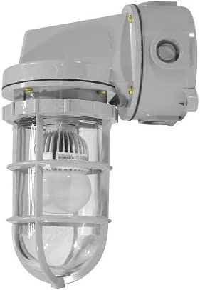 Division 2 Chemical Resistant LED Light 10 Watts Class 1 -Hi Non-Metallic Corrosion Resistant