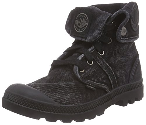 Palladium Womens Pallabrouse Baggy Textiel Hoge Canvas Laars Zwart