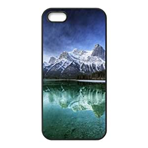 For SamSung Note 2 Phone Case Cover mountain lake scenery Hard Shell Back Black For SamSung Note 2 Phone Case Cover 316356
