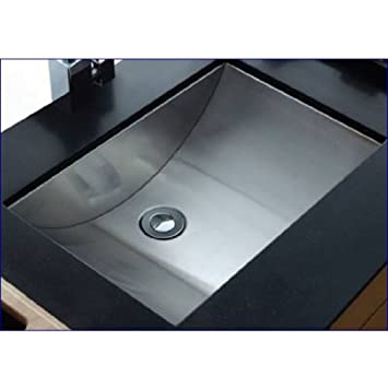 Cantrio Ms Undermount Bathroom Sink X Inch Amazon Com