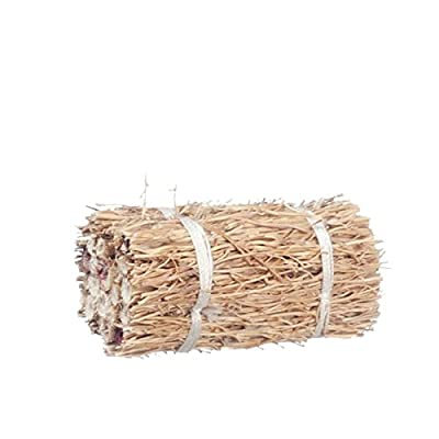Dollhouse Miniature 1:12 Scale Hay Bale by Town Square Miniatures: Toys & Games