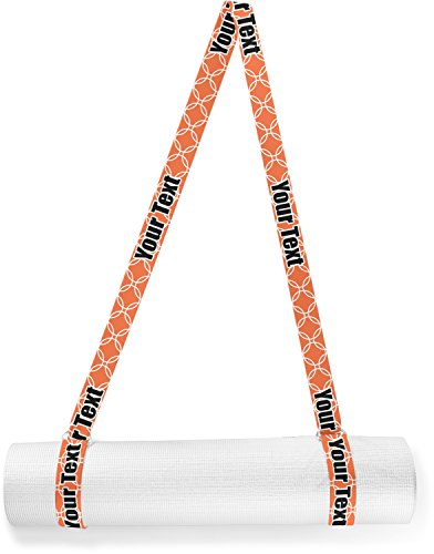 RNK Shops Linked Circles Yoga Mat Strap (Personalized) by RNK Shops