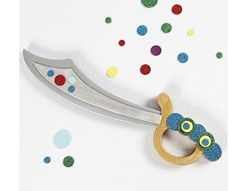 Amazon.com: Crafty Capers Espada pirata para niños a color y ...