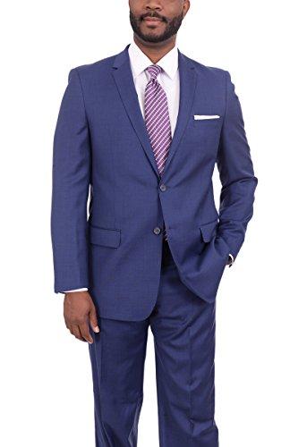 Blue 2 Wool Suit - 3