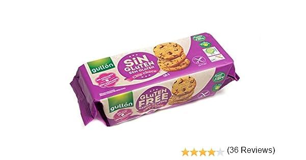 Chip Choco Gullón Galletas Sin Gluten Y Sin Azúcar - 130 g: Amazon.es: Alimentación y bebidas